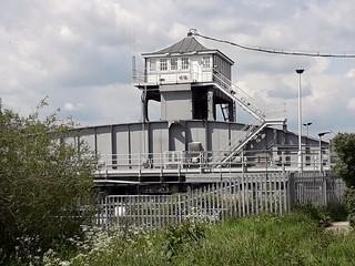 Selby River Ouse Railway Bridge