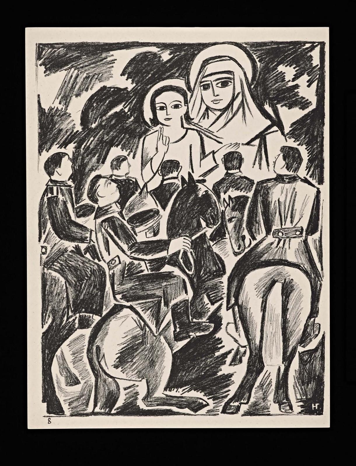 1914. Мистические образы войны 14 литографий-13