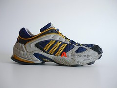 1999 VINTAGE ADIDAS TORSION RESPONSE TR TRAIL RUNNING TREKKING / HIKING SPORT SHOES
