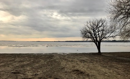 Westboro beach in the spring