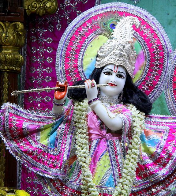 ISKCON Juhu Mangal Deity Darshan on 19th Apr 2019