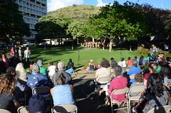 Performance by Awhina-i-te-Kaupapa, a group comprised of students and alumni from Te Wharekura O Rakaumanga (New Zealand), a Maori immersion school