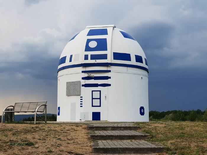 Observatorium Ala Star Wars R2-D2