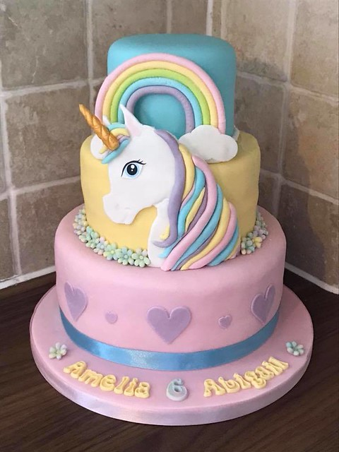 Unicorn Cake by The Fairy Bake Mother