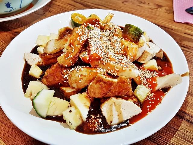 Tofu Beancurd Rojak