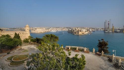 MALTA the three Cities, from Valletta