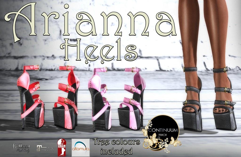 Continuum Arianna Heels