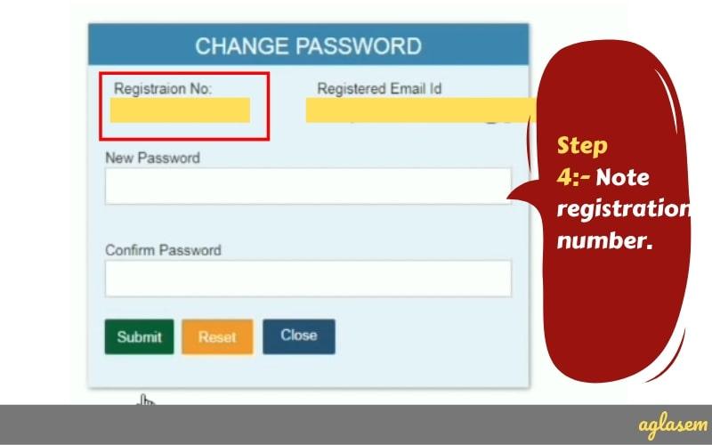 SSC GD Forgot Registration Number
