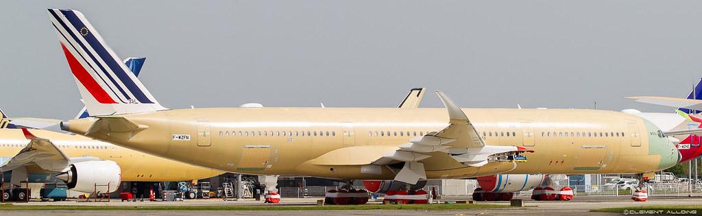 Air France Airbus A350-941 cn 331 F-WZFN // F-????