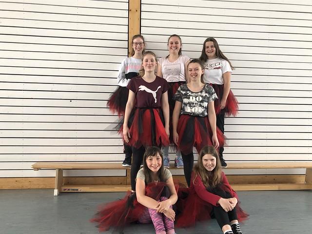 Tanzmädels (ab 5. Klasse)