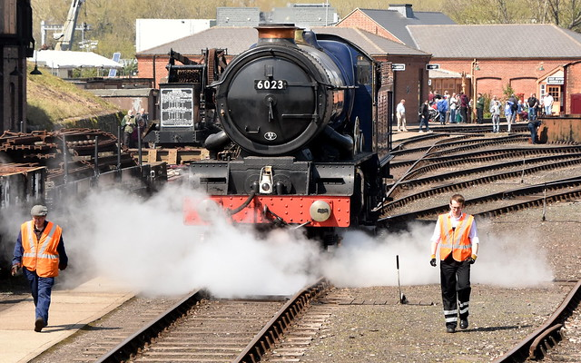 GWR King Class 6023 King Edward 2 with minders! - Impossible Dream Gala - Didcot Railway Centre
