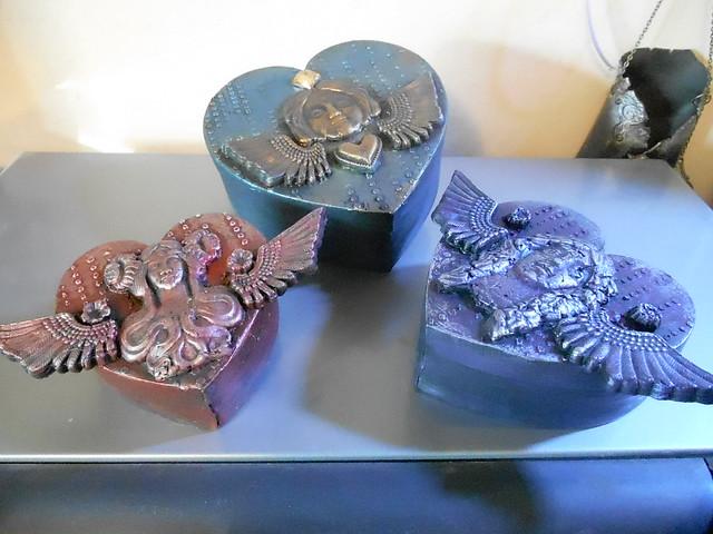 Altered Heart Boxes by LynzCraftz Designz