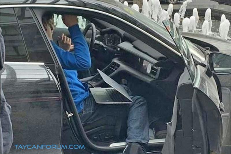 Porsche Taycan Production Interior