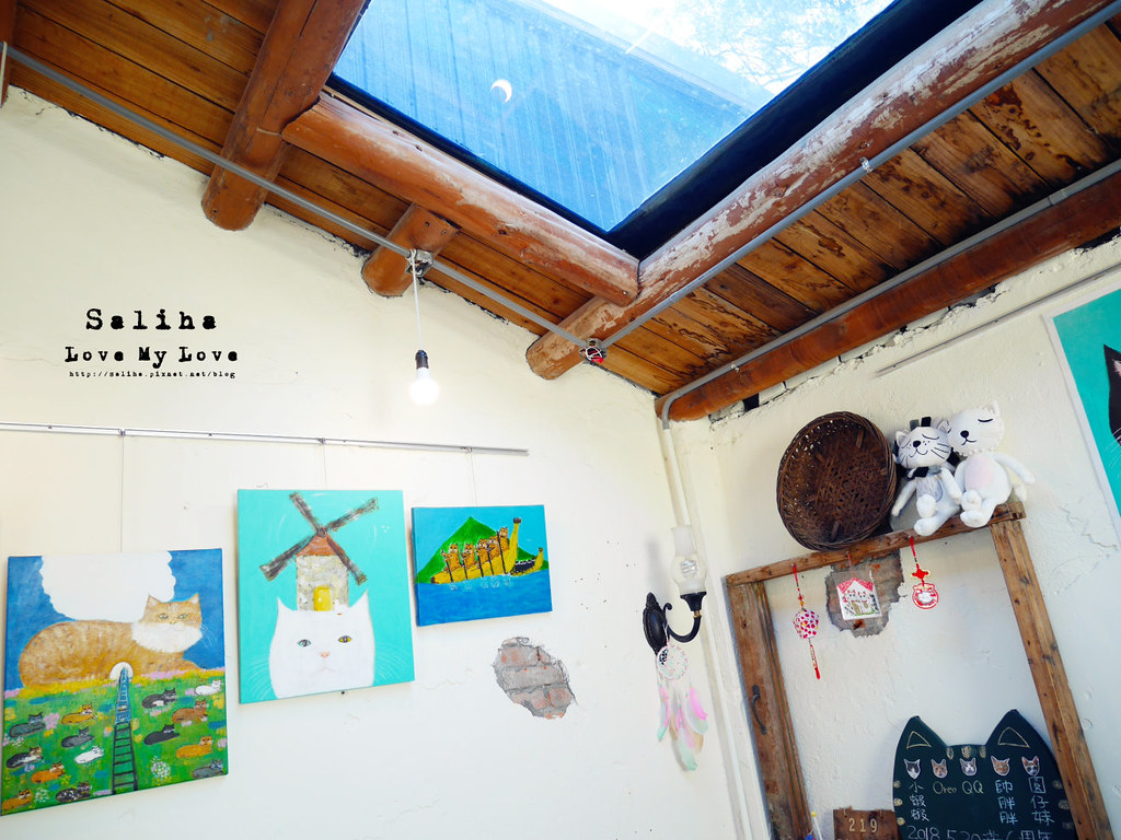新北瑞芳文青旅行景點猴硐Empress Gallery Catwalk 219有貓咪咖啡館下午茶 (4)