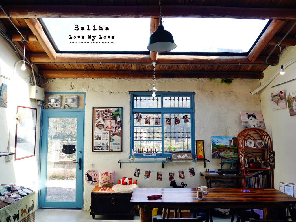 新北瑞芳文青旅行景點猴硐Empress Gallery Catwalk 219有貓咪咖啡館下午茶 (3)