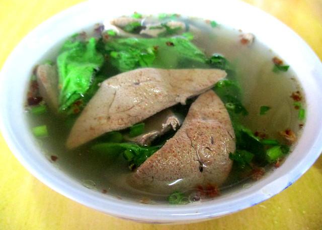 Esan Cafe liver soup