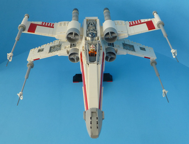 Lego X-Wing Front Top