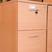 Beech 2 door filing cabinet E145