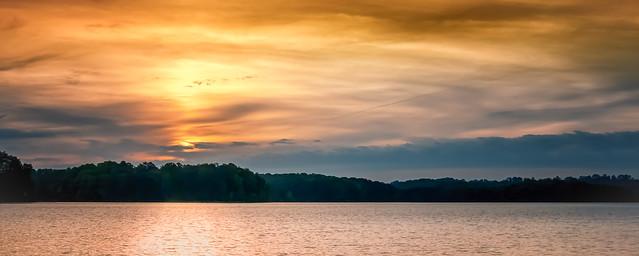 Sunrise Glow at Lake Lanier (3030)