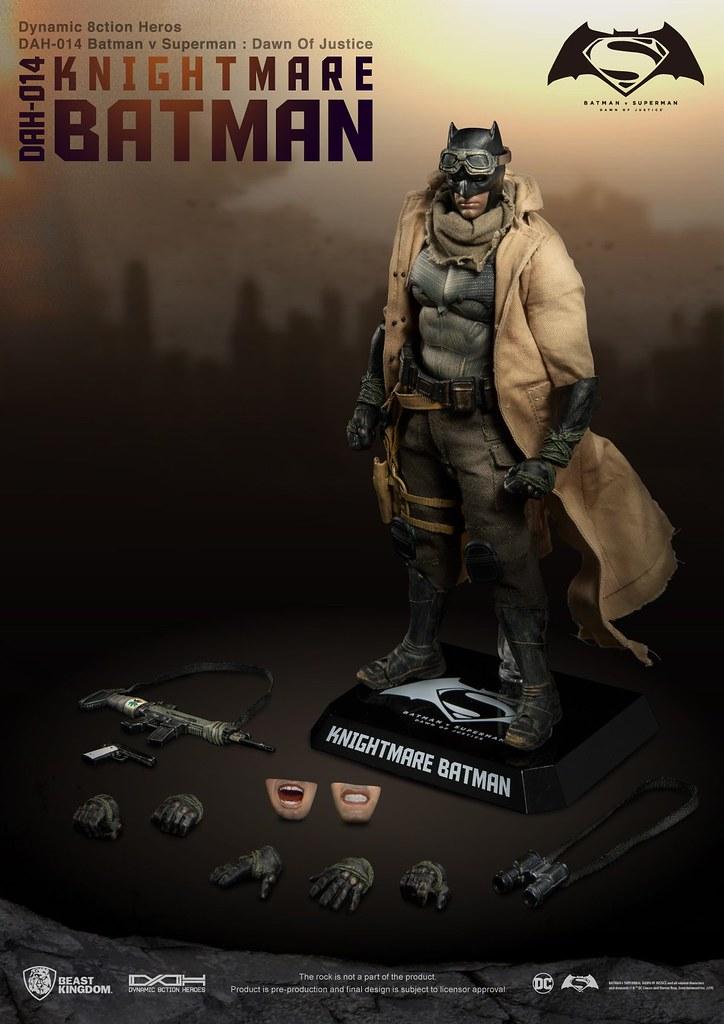 野獸國 究極英雄系列《蝙蝠俠對超人:正義曙光》惡夢蝙蝠俠 Knightmare Batman DAH-014