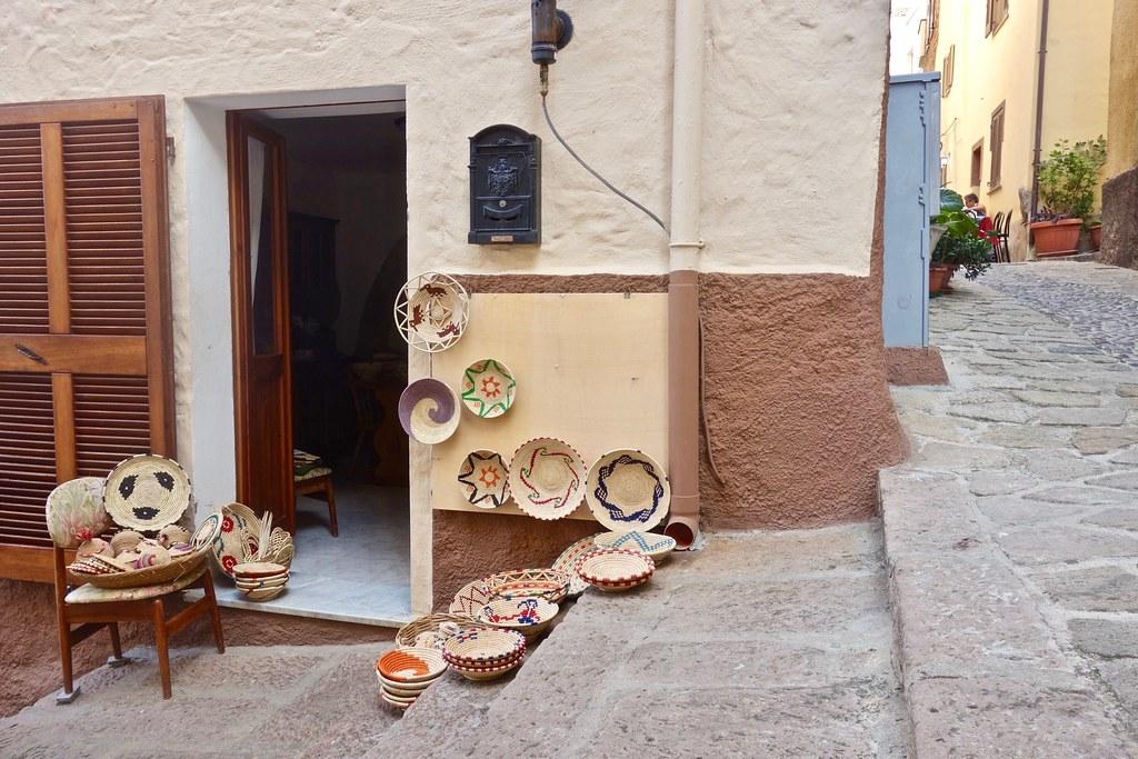 Strade e scale di Castelsardo
