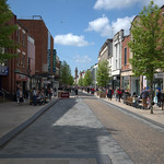 Fishergate. Preston's high street