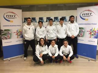 La squadra della Puglia