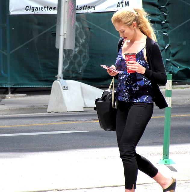 Texting & walking
