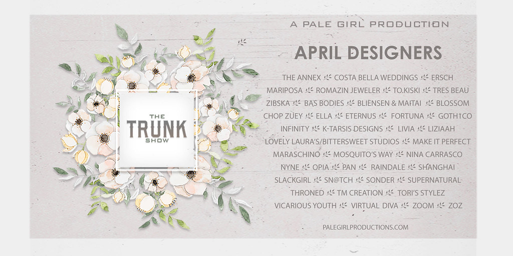 The Trunk Show April 2019 Designers