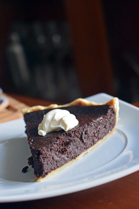 baked chocote tart 1