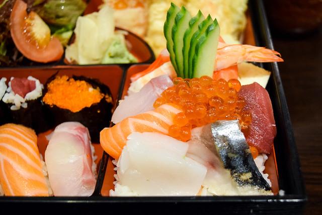 Mixed Sashimi at Eat Tokyo, Notting Hill Gate