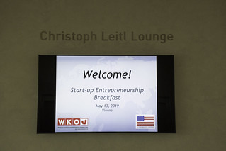 Ambassador Traina at the WKO Entrepreneurship Breakfast