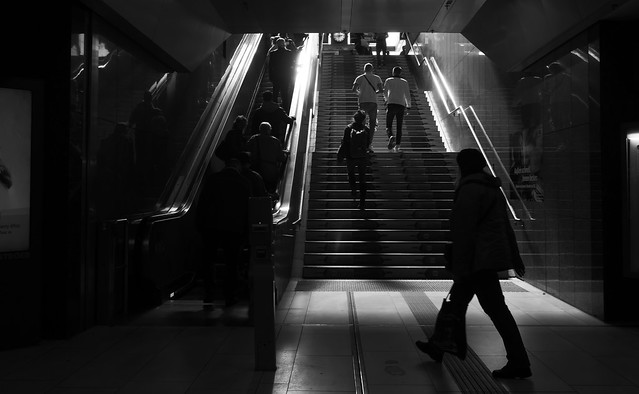 L.Monochrome D@central station, Düsseldorf
