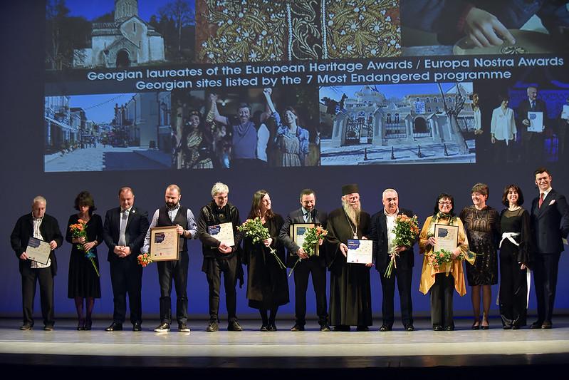 Local Award Ceremony for Georgian winners