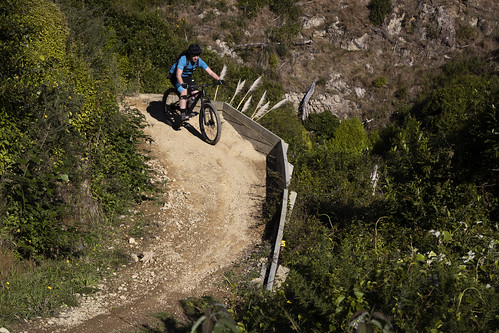 <p>Graham on the Weta track at Belmont. Love this (and the other) tracks there, so much fun.</p>