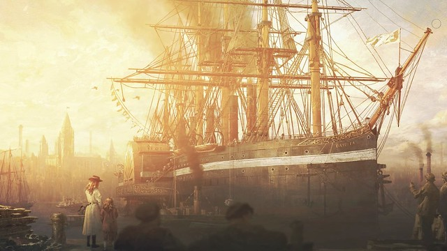 Anno 1800 - Sunset Harbor