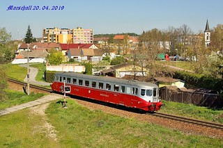 M 260.001 (825.001-1)_-_20.04.2019-_-DHV LUŽNÁ u RAKOVNÍKA - PP Libeň_trať číslo 190 Hluboká nad Vltavou - Zliv (0s 11882) | by Bardotka77