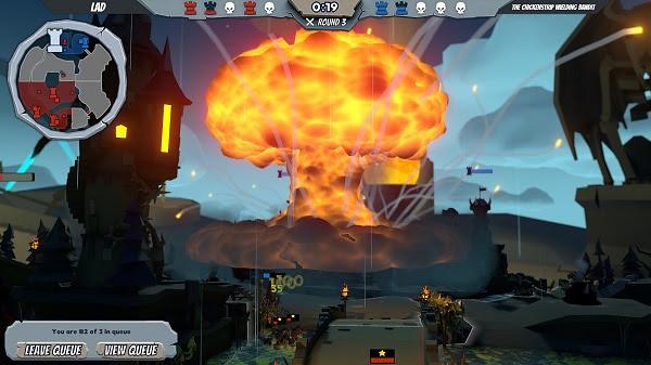Tabletop bomb