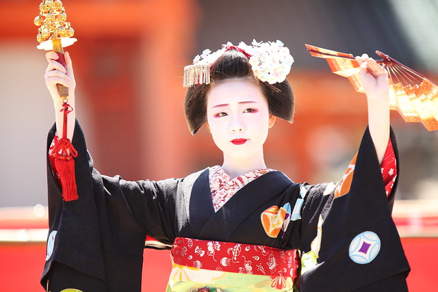 Traditional Odori Dance