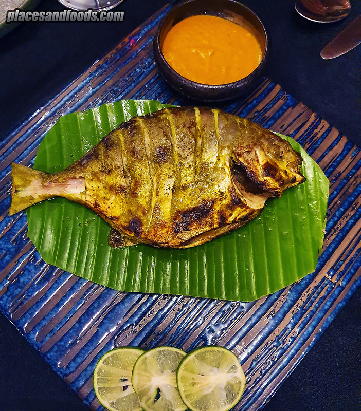 flour bukit damansara dinner curry leaf fish