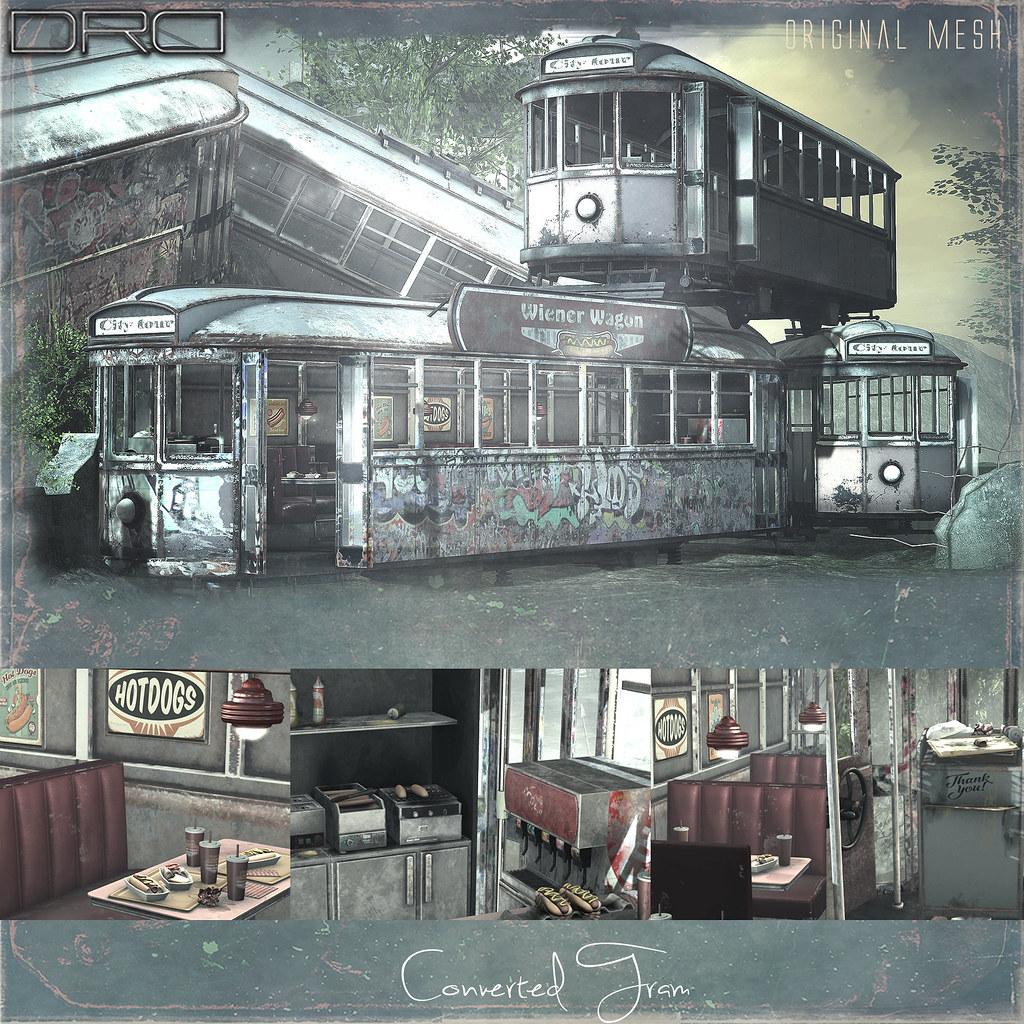 Converted Tram