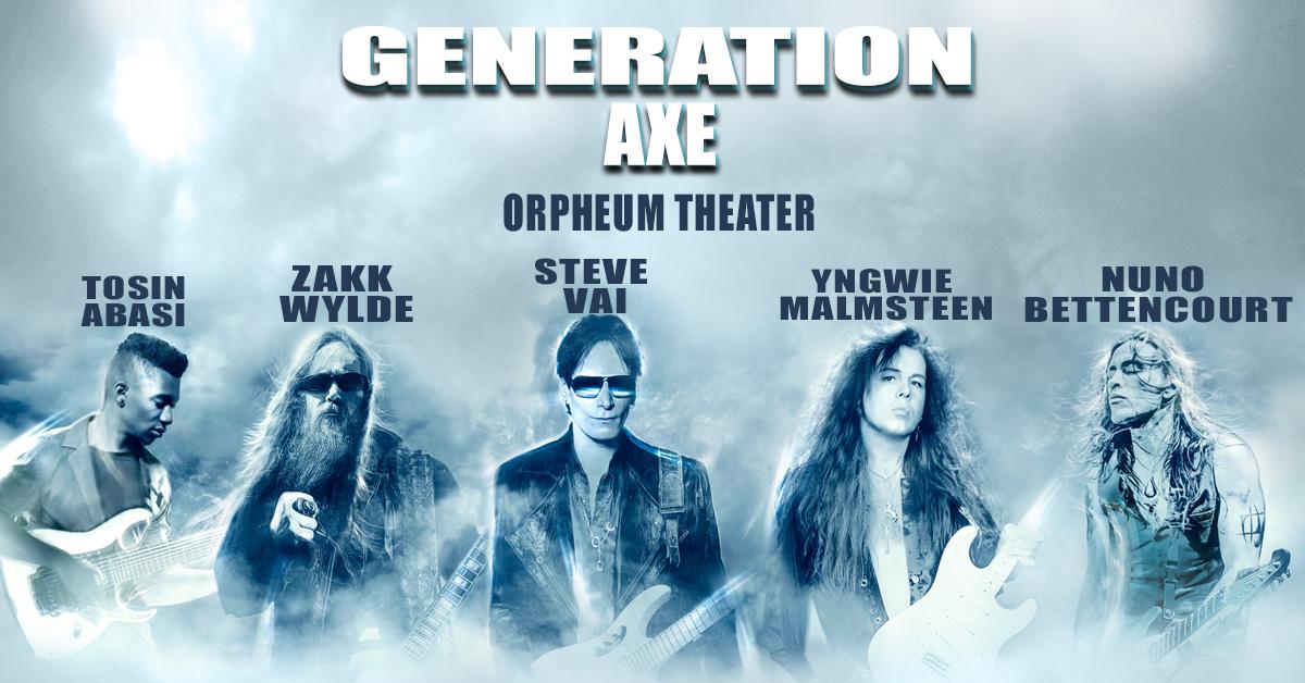 由五位吉他英雄組成的 Generation Axe 集結巡迴釋出現場演出專輯 Generation Axe: The Guitars That Destroyed The World