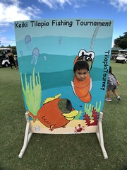 Maui Electric's 2019 Keiki Tilapia Fishing Tournament — May 11, 2019: Look who took a fun photo at our Keiki Tilapia cutout and posted it on social media.