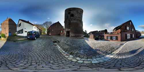 korschenbroich liedberg milltower mühlenturm medievaltown climbingupstairs entrancefee church castle