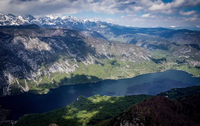 Lake Bohinj , Slovenia