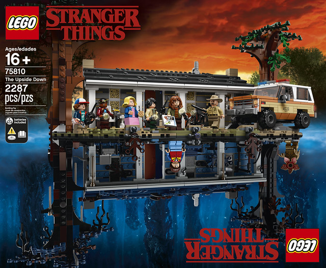 REVIEW LEGO 75810 Stranger Things 06