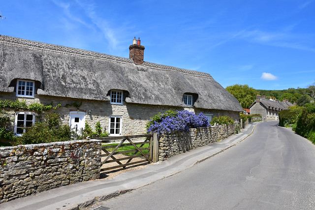 Thatched Cottages in Kimmeridge