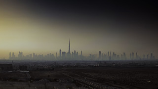 Dubai Skyline   by eddiegarry