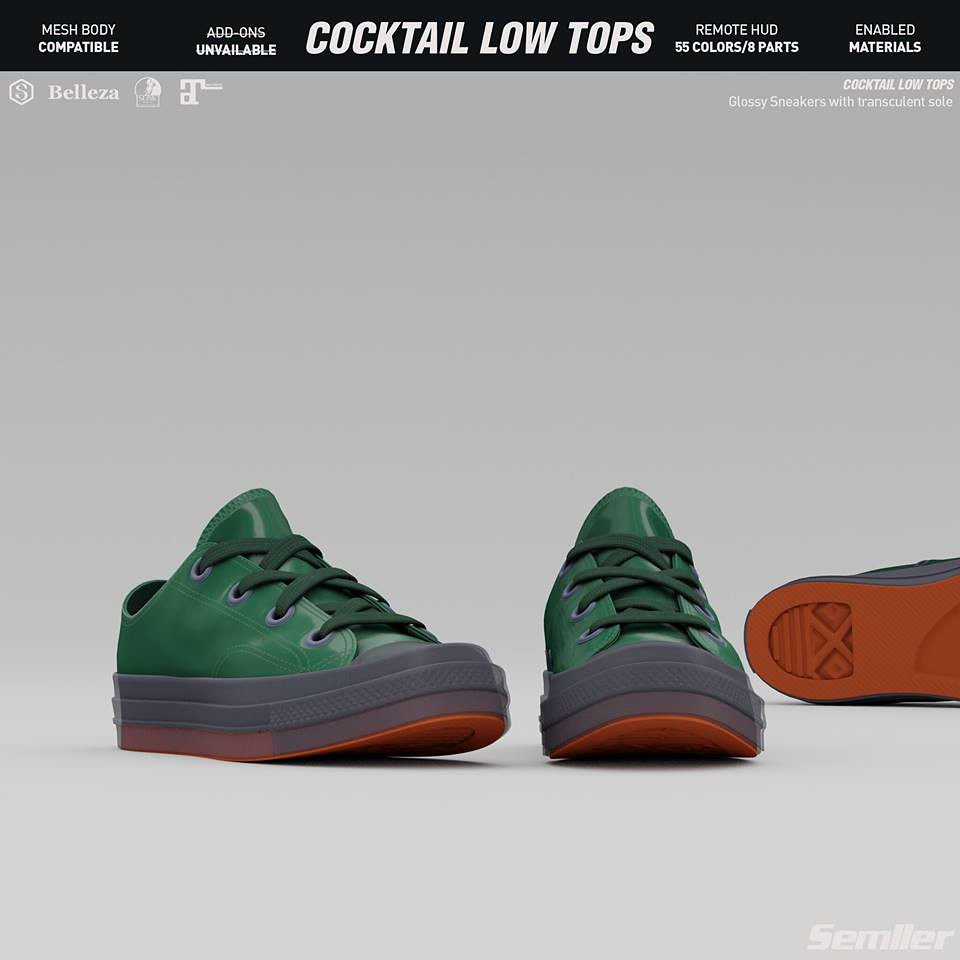 Semller – COCKTAILlow tops @ equal10