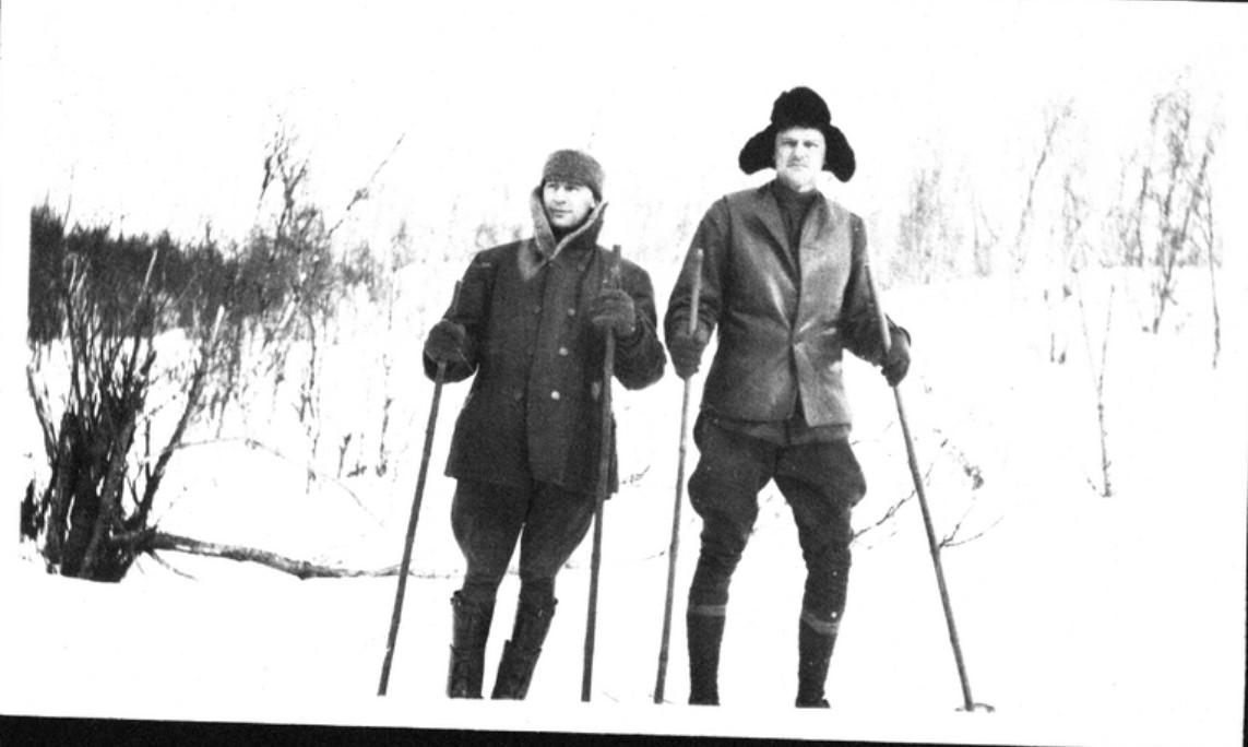 14. Любители на лыжах